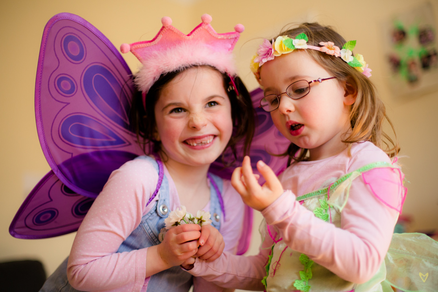 Corcoran Girls - Dressing Up | Kids Photography | Dublin